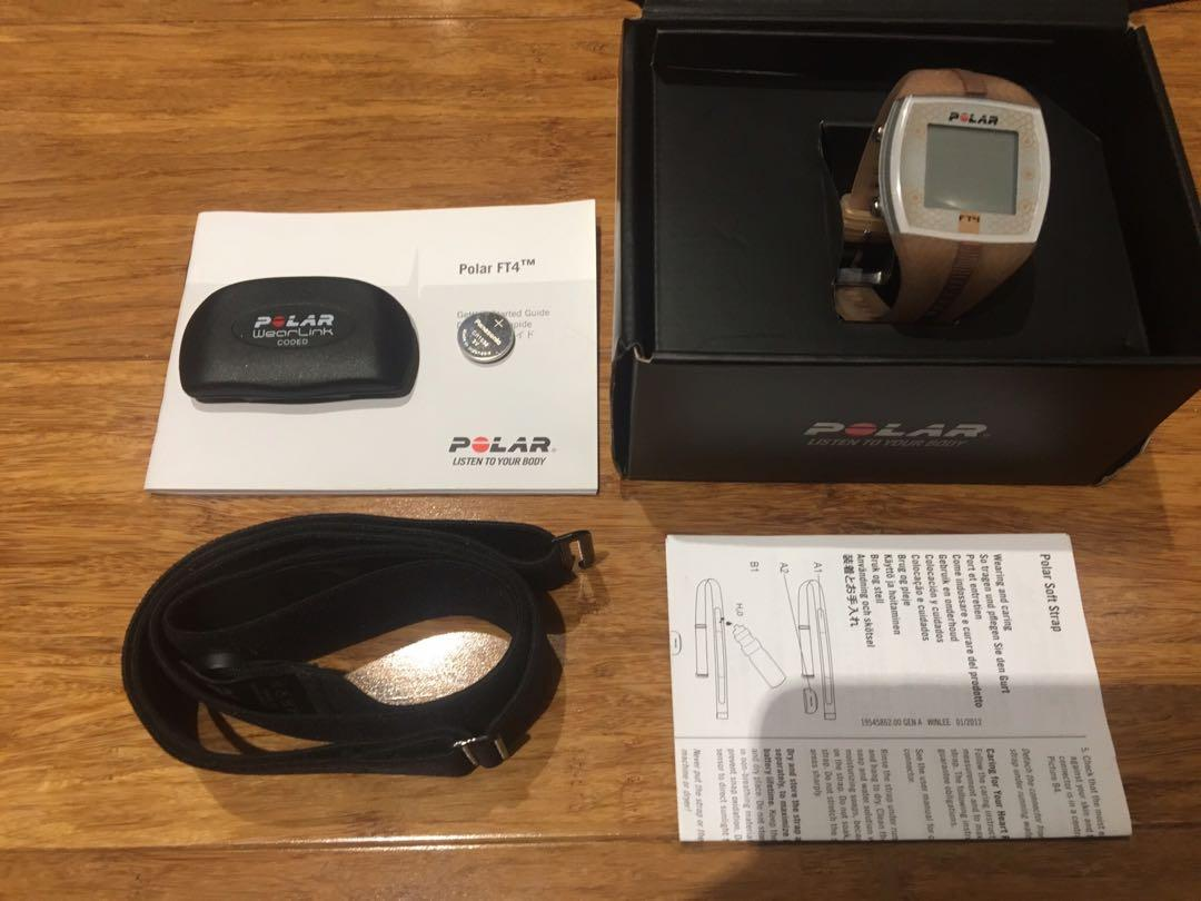 POLAR FT4F Bronze Fitness watch with Heart Rate Monitor and strap