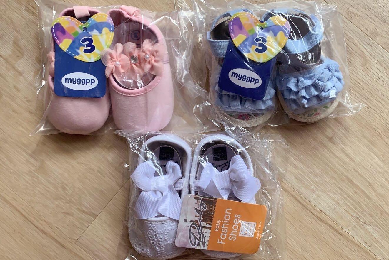Prewalker Shoes for Baby Girl