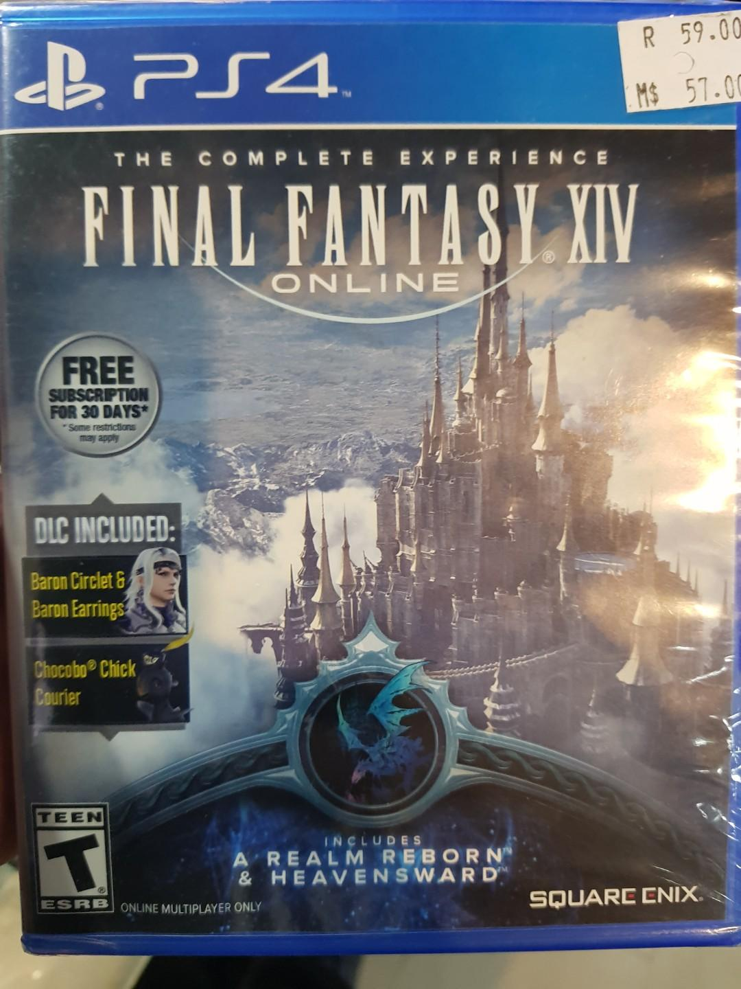 PS4 Final Fantasy XIV Online The complete Experience, Toys
