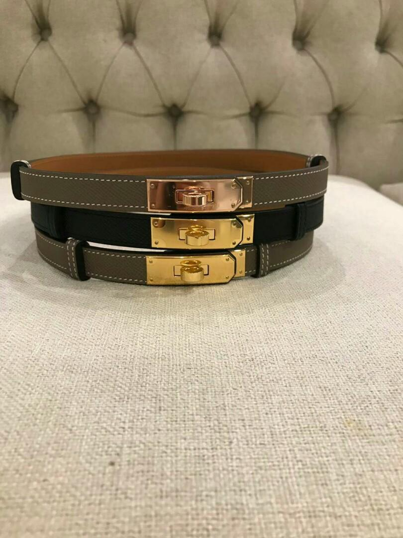 Ready Kelly belt black ghw Ghw // etoupe ghw // etoupe rghw A @9.850.000