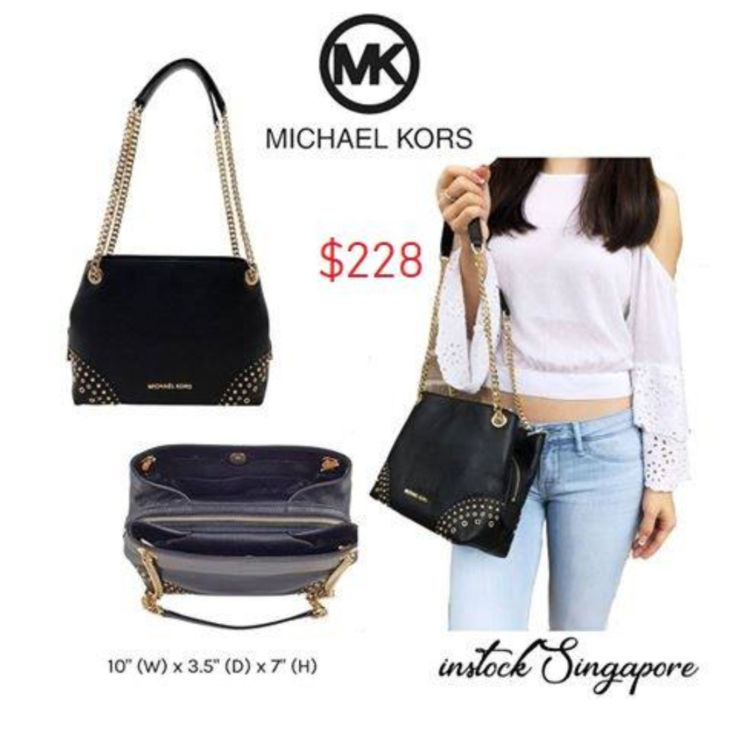26afdaa64b4b READY STOCK authentic new MICHAEL KORS JET SET ITEM MD CHAIN ...