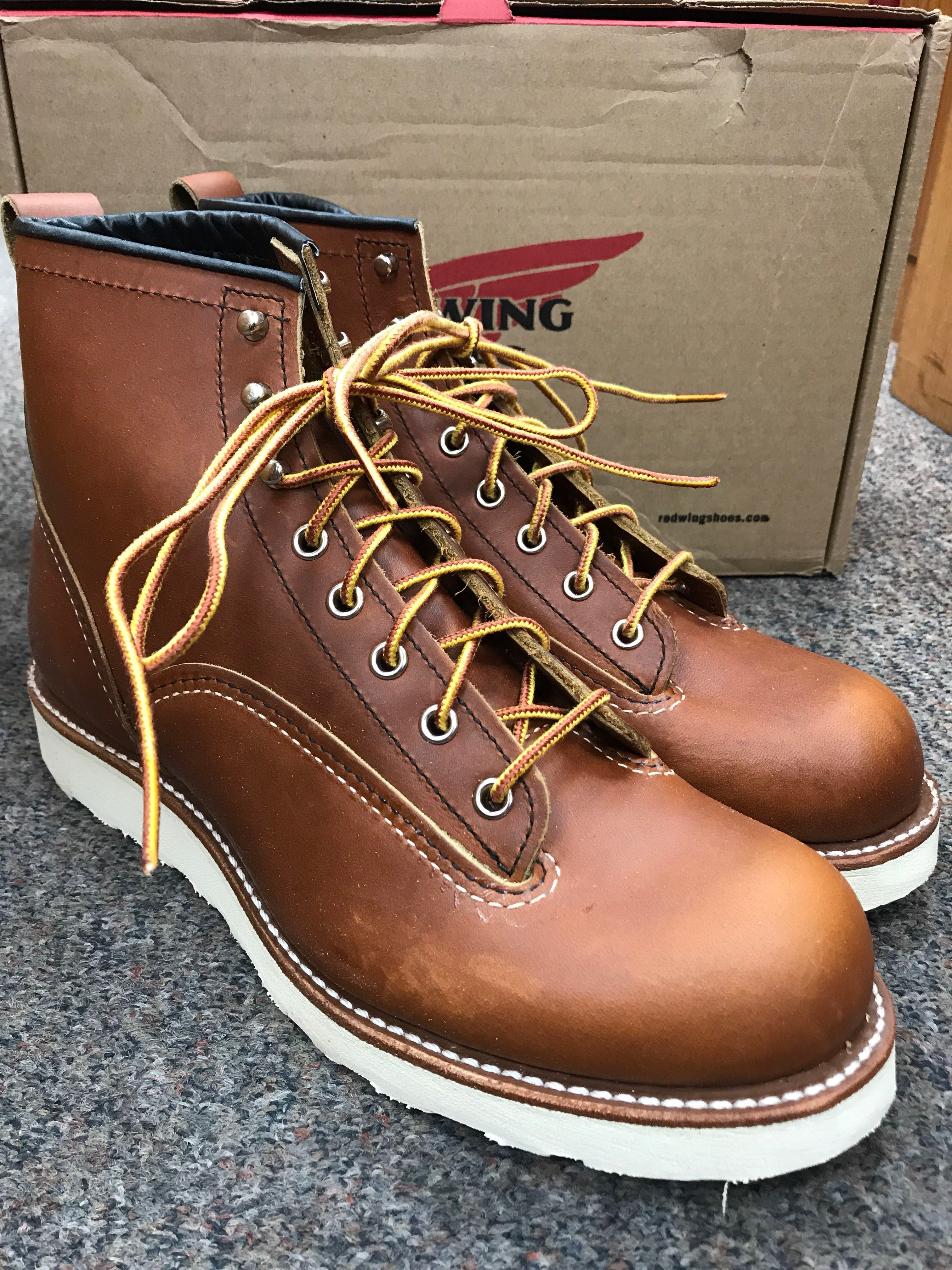 800ea20d4de Red Wing Heritage Boots Linesman 2904 US9D Oro-Iginal Factory Seconds
