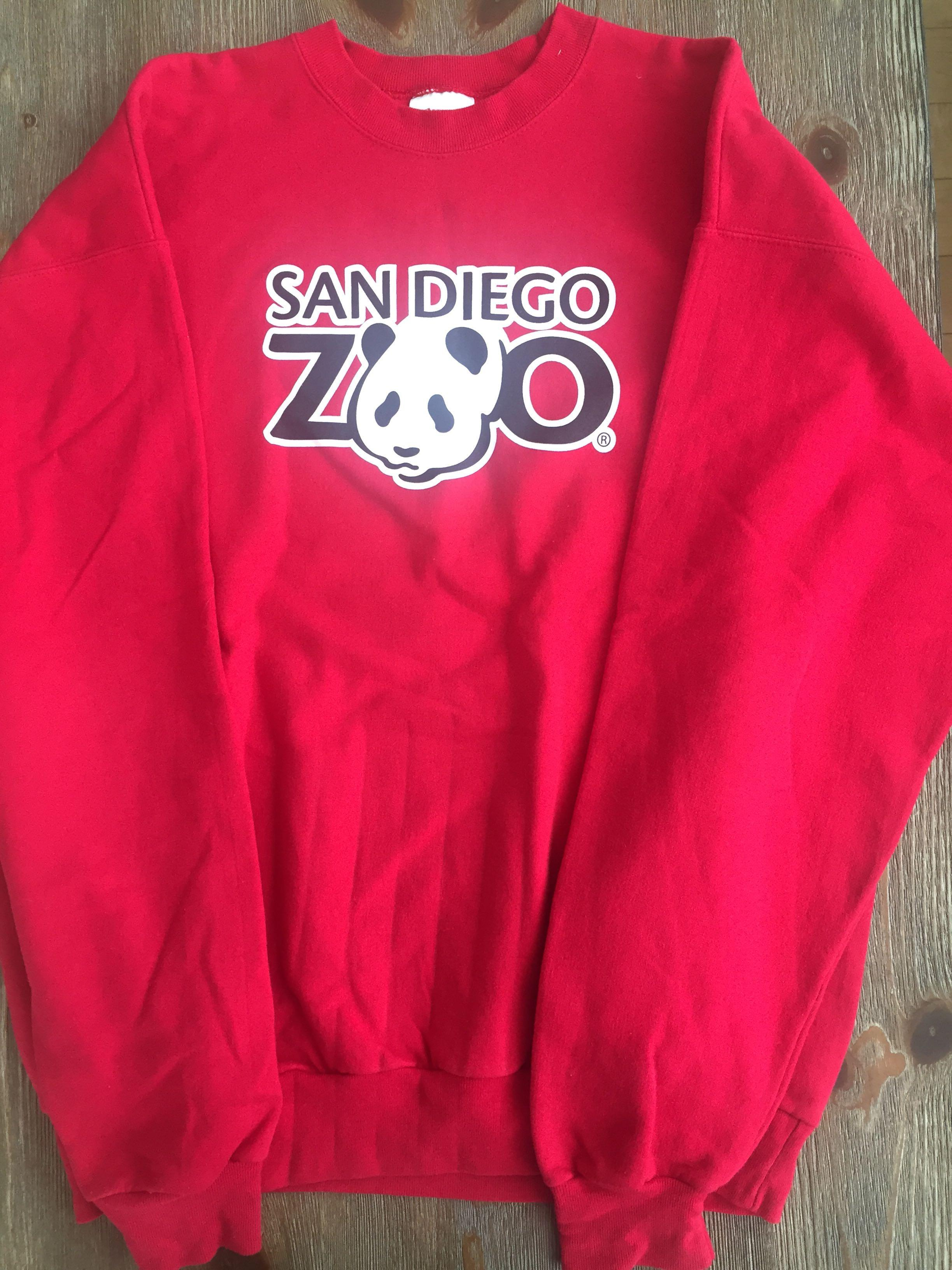 San Diego Zoo Sweater Size Large