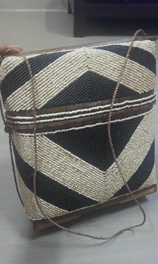 Stylish Hand Made Beads Handbag from Kim Soo Bali