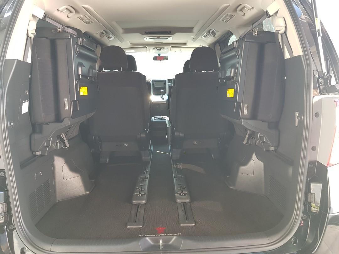 Toyota Alphard S 2.4 AT Audioless 2013 Pajak Panjang