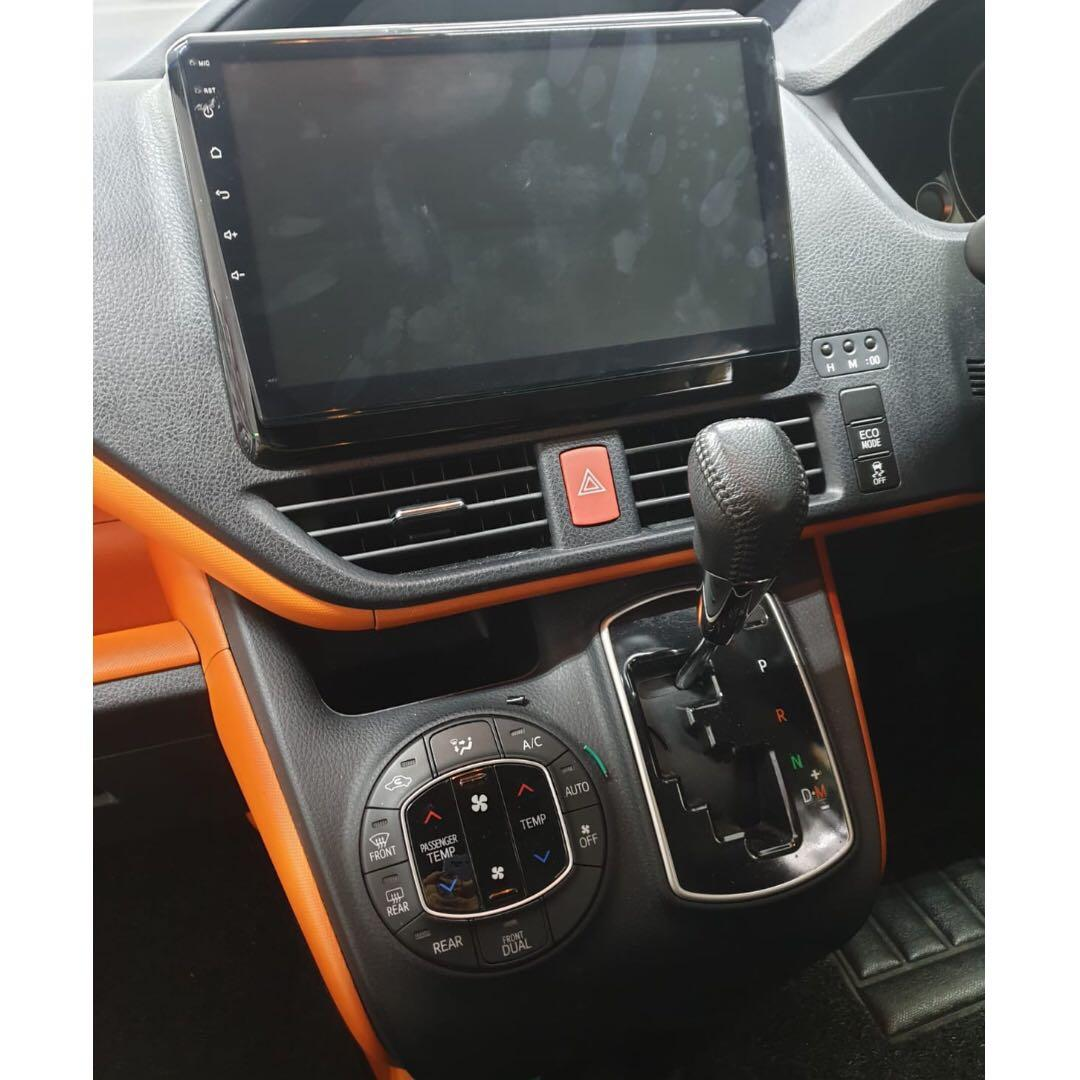 """Toyota Voxy 2.0L Petrol - SUPER SPACIOUS! 8-SEATER!!!! Full specs, airbags, dual powered sliding doors, 10"""" android AV unit, top of the line! Ideal for Limousine and Grab 6-seater PREMIUM jobs!!"""