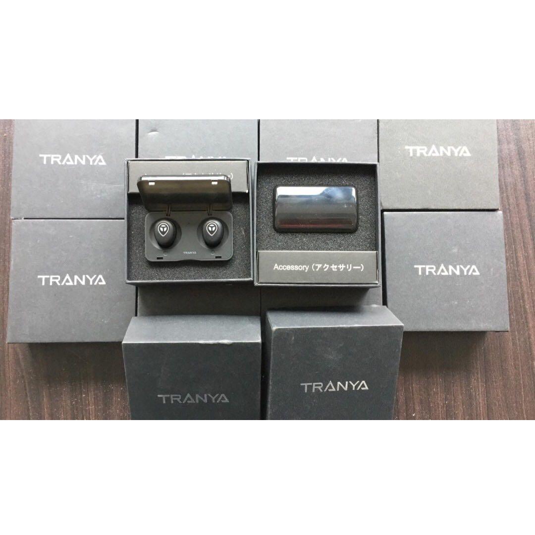 0b2c2dfb4d2 Tranya T1 Bluetooth 5.0 Deep Bass True Wireless Headphones Sports ...
