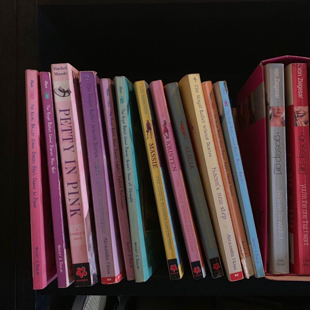Twilight Books/Harry Potter/Poseur/Gossip Girl/Royal Ballet Diaries