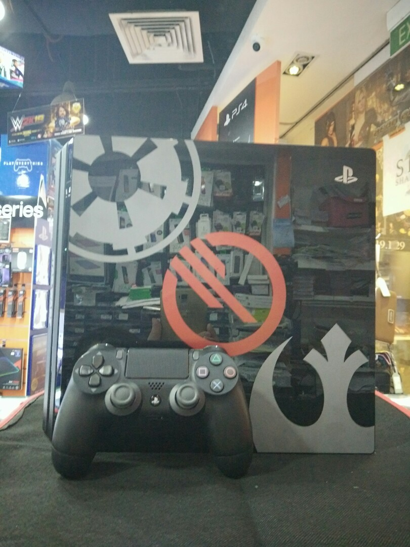 ps4 pro star wars edition used