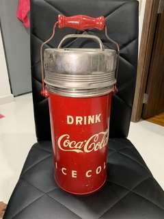 🚚 Coca Cola vintage ice cooler
