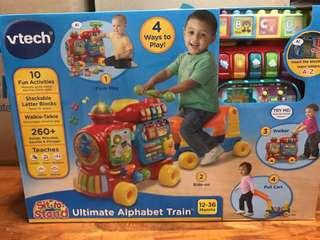 Brand new - vtech ultimate alphabet train (red / pink)