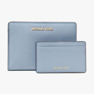Michael Kors Medium Wallet 十字紋銀包