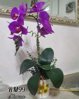 Artificial Flowers / Orchirds / Bunga tiruan *ready stock*