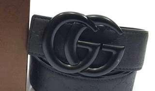 Gucci Black Belt