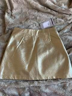 Zara metallic mini