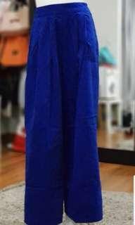 Celana kulot blundru biru benhur #barubukanpreloved