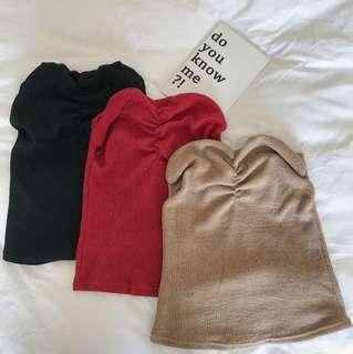 Top ( Brown Ready stock )