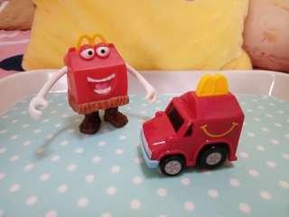 🚚 二手。2個麥當勞玩具
