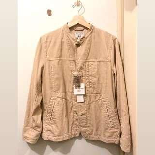 Uniqlo x Ines De La Fressange worker style shirt jacket 燈芯絨褸