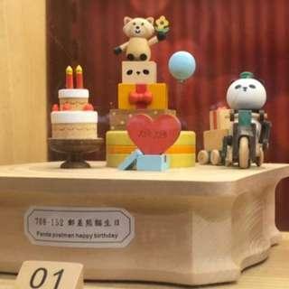 香港代购海洋公园音樂木盒 Music Box