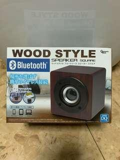 🚚 Japanese Wood Style Speaker Square