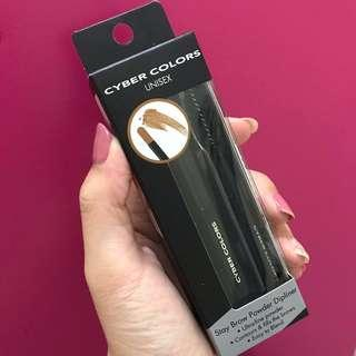 🚚 Cyber Colors Unisex Stay Brow Powder Displiner