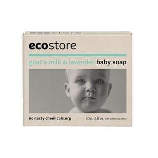 紐西蘭製造 ecostore 嬰兒番梘 80g