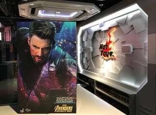 🚚 Hot Toys Captain America Avengers Infinity War Movie Promo (MISB Ready)