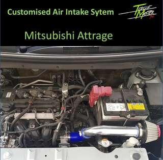 Customize Air Intake For Mitsubishi Attrage .