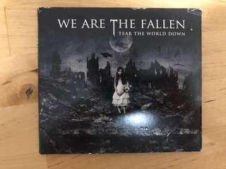 We Are The Fallen Tear the world down Gothic Metal