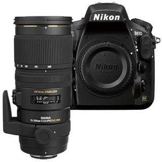 Nikon/Canon Cameras with full accessories