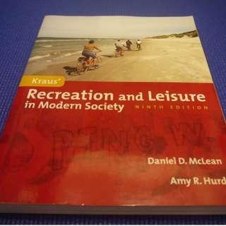 Kraus' recreation and leisure in modern society /McLean, Daniel D., Hurd, Amy R., Ph.D.著