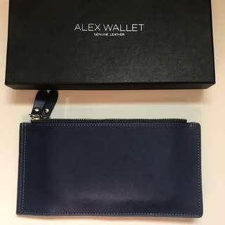 Alex Wallet Genuine Leather