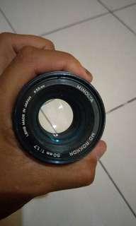 Minolta Lens