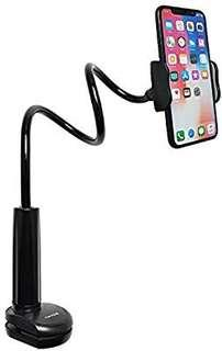 A235 - Tryone Gooseneck Phone Holder - Flexible Arm Mount Stand for iPhone Series/Samsung Cellphones/Google Pixel and more, 27.5in Overall Length