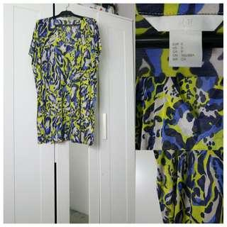 Abstract Dress H&M