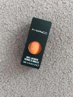 MAC Nail Polish/Laquer - Riot Gear (Orange)
