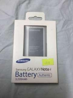 Samsung Galaxy Note 4 Battery 電池