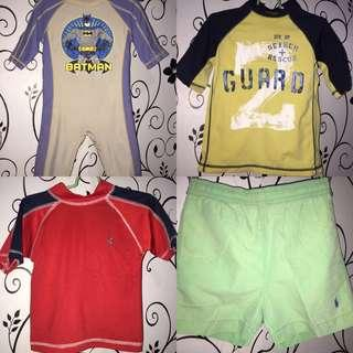 Swimwear bundle for 2-4 y.o.