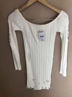 Dress - ripped details