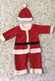🚚 (For blessing) Preloved Unisex Santa Claus Costume