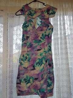 Tigermist Floral Dress