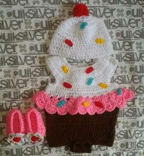 Cupcake Crochet Costume