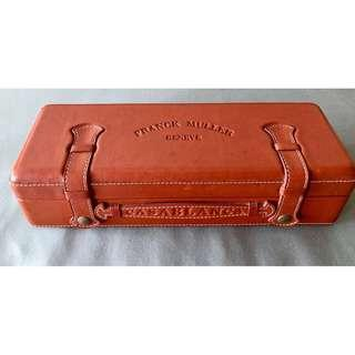 Authentic FRANK MULLER Casablanca Watch Leather Case - Guaranteed 100% Authentic / original