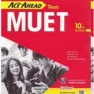 Ace Ahead MUET (10th edition)