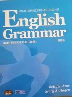 English Grammer 第四版 英文文法書