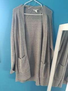 Grey Cardigan with Pockets #SwapCA