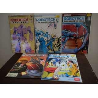 Robotech Macross Comics Set of 5 comics