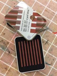 繪畫用啡色碳精條 dry sketch material in brown