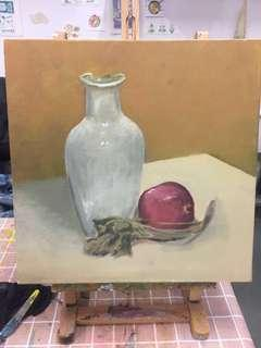 靜物油畫 oil painting
